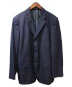 COMME des GARCONS HOMME(コムデギャルソンオム)の古着「3Bテーラードジャケット」|ネイビー