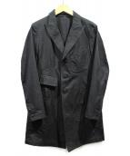 Y's(ワイズ)の古着「ロングジャケット」|ブラック