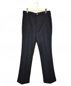 SUB-AGE.(サベージ)の古着「センタープレスパンツ」|ブラック