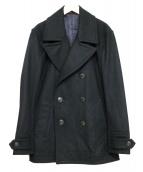 Paul Smith(ポールスミス)の古着「カシミヤ混Pコート」|ブラック