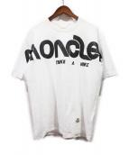 MONCLER(モンクレール)の古着「MAGLIA T-SHIRT/プリントTシャツ」|ホワイト