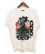 CDG(コムデギャルソン)の古着「プリントTシャツ」|ホワイト