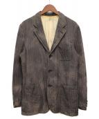 COMME des GARCONS HOMME(コムデギャルソンオム)の古着「製品染めジャケット」 ブラウン