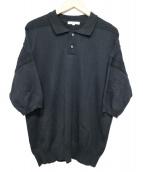 YASHIKI(ヤシキ)の古着「Suzukaze Knit Polo」|ブラック