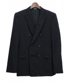 COMME des GARCONS HOMME PLUS(コムデギャルソンオムプリュス)の古着「ダブルテーラードジャケット」 ブラック