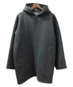 AURALEE(オーラリー)の古着「ヘビーメルトンフードコート」|グレー