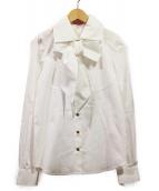 Vivienne Westwood RED LABEL(ヴィヴィアンウエストウッド レッドレーベル)の古着「ボウタイシャツ」|ホワイト