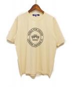 JUNYA WATANABE MAN(ジュンヤワタナベ マン)の古着「プリントTシャツ」|アイボリー