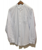 AMI Alexandre Mattiussi(アミ アレクサンドル マテュッシ)の古着「オックスフォードボタンダウンシャツ」|ライトブルー