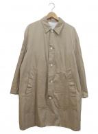LIVING CONCEPT(リビングコンセプト)の古着「ステンカラーコート」|ベージュ