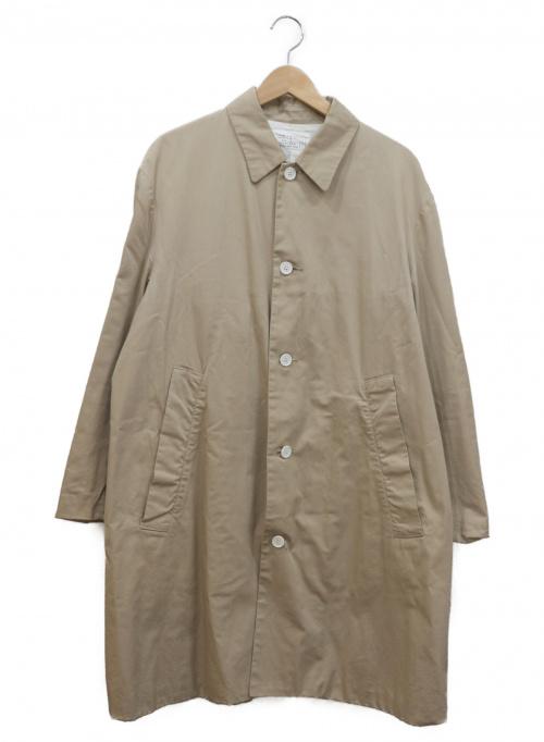 LIVING CONCEPT(リビングコンセプト)LIVING CONCEPT (リビングコンセプト) ステンカラーコート ベージュ サイズ:3の古着・服飾アイテム