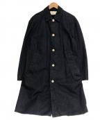 LIVING CONCEPT(リビングコンセプト)の古着「デニムワークコート」|インディゴ