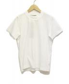 JUNYA WATANABE COMME des GARCONS(ジュンヤワタナベ コムデギャルソン)の古着「19SS クルーネックTシャツ」 ホワイト