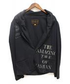 UNDERCOVERISM(アンダーカバイズム)の古着「再構築テーラードジャケット」|ブラック