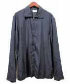 LEMAIRE(ルメール)の古着「straight fit bomber jacket」|ネイビー