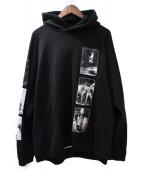 TAKAHIROMIYASHITA TheSoloIst.(タカヒロミヤシタザソロイスト)の古着「19SS Oversized Pullover Hoodie」|ブラック