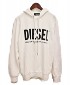 DIESEL(ディーゼル)の古着「20SS プルオーバーパーカー」|ホワイト