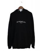 GIVENCHY(ジバンシィ)の古着「19SS ヴィンテージロゴパーカー」|ブラック