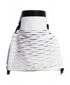 TOGA(トーガ)の古着「巾着クラッチバッグ」 ホワイト
