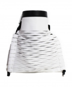 TOGA(トーガ)の古着「巾着クラッチバッグ」|ホワイト