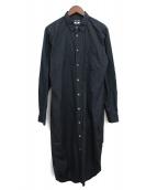 COMME des GARCONS Homme Plus(コムデギャルソンオムプリュス)の古着「ロングシャツ」|ブラック