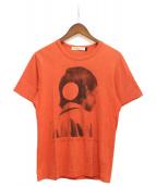 UNDERCOVER(アンダーカバー)の古着「プリントTシャツ」 オレンジ
