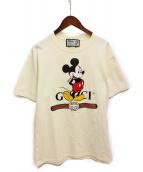 ()の古着「20SS ミッキーオーバーサイズTシャツ」 アイボリー