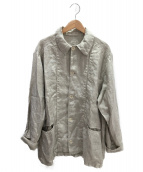 Ron Herman(ロンハーマン)の古着「リネンカバーオール」|ベージュ