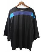 SHAREEF(シャリーフ)の古着「ビッグTシャツ」 ブラック