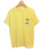 TOGA VIRILIS(トーガ ヴィリリース)の古着「ポケットTシャツ」 イエロー
