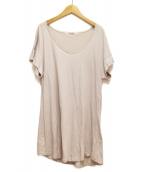 LIMI feu(リミフゥ)の古着「Tシャツワンピース」|グレー