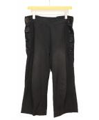 LIMI feu(リミフゥ)の古着「クロップドパンツ」|ブラック