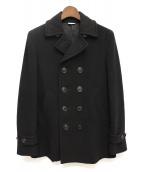 COMME des GARCONS Homme Plus(コムデギャルソンオムプリュス)の古着「Pコート」|ブラック