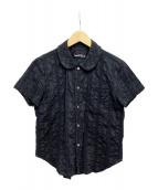 tricot COMME des GARCONS(トリコ コムデギャルソン)の古着「刺繍デザインセットアップ」|ブラック