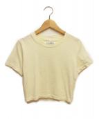 Maison Margiela(メゾンマルジェラ)の古着「ショートTシャツ」|アイボリー