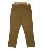 MAISON KITSUNE(メゾンキツネ)の古着「コットンパンツ」|ブラウン