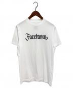 FACETASM(ファセッタズム)の古着「ロゴ刺繍Tシャツ」 ホワイト