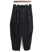 LEMAIRE(ルメール)の古着「19AW Twisted Pants」 ブラック