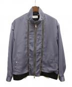 TAAKK(ターク)の古着「20SS ジップアップジャケット」 ブルー