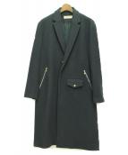 CULLNI(クルニ)の古着「ウールチェスターコート」 グリーン