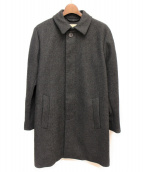 MAISON KITSUNE(メゾンキツネ)の古着「ウールステンカラーコート」|グレー