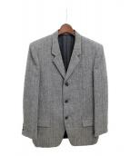 Y's for men(ワイズフォーメン)の古着「ツイードジャケット」|ブラウン