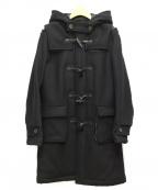 noir kei ninomiya(ノワール ケイ ニノミヤ)の古着「ウールメルトンダッフルコート」|ブラック
