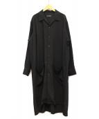 syte(サイト)の古着「シャツコート」 ブラック