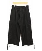 syte(サイト)の古着「コットンバルーンパンツ」 ブラック