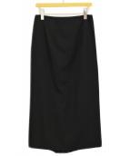 ()の古着「ロングスカート」|ブラック