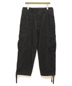 Yohji Yamamoto pour homme(ヨウジヤマモトプールオム)の古着「カーゴパンツ」|ブラック