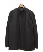 Yohji Yamamoto pour homme(ヨウジヤマモトプールオム)の古着「スタンドカラーコート」|ブラック