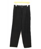 Y's for men(ワイズフォーメン)の古着「ウールパンツ」|ブラック