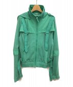 ()の古着「ジップアップジャケット」 ミント